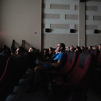 The El Morro Theatre during a screening of Mountainfilm on Tour, Friday, May 3 in Gallup.