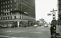 1948 Postcard of SE corner of Hollywood Blvd. & Vine St.