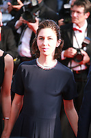 Director Sofia Coppola at the Palme d'Or  Closing Awards Ceremony red carpet at the 67th Cannes Film Festival France. Saturday 24th May 2014 in Cannes Film Festival, France.