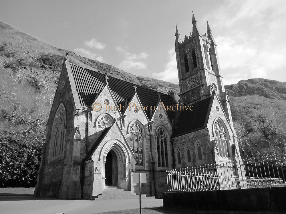 Kylemore Abbey Church, Kylemore Abbey, Galway ñ 1881.JPG