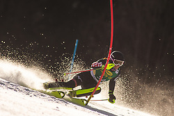 Leona Popovic (CRO) during the Ladies' Slalom at 56th Golden Fox event at Audi FIS Ski World Cup 2019/20, on February 16, 2020 in Podkoren, Kranjska Gora, Slovenia. Photo by Matic Ritonja / Sportida