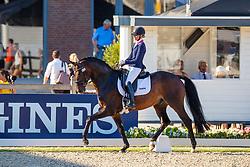 Van Liere Dinja, NED, Hermès<br /> World ChampionshipsYoung Dressage Horses<br /> Ermelo 2018<br /> © Hippo Foto - Dirk Caremans