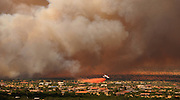 A fire that started on June 17, 2011, on Fort Huachuca in Sierra Vista, Arizona, USA, is the second to burn in the area.  Crews continued to battle the Monument Fire in the Coronado National Forest in Sierra Vista.