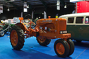 RIAC Classic Car Show 2013, RDS, 1945 Allis-Chalmers WC. Founded in USA in 1861. Allis-Chalmers was an agriculture based equipment manufacturer. This model was produced from 1934 to 1948 and as the first tractor on Charlesland farm, replacing eight horses. Irish, Photo, Archive.