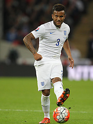 Ryan Bertrand of England - Mandatory byline: Paul Terry/JMP - 07966 386802 - 09/10/2015 - FOOTBALL - Wembley Stadium - London, England - England v Estonia - European Championship Qualifying - Group E