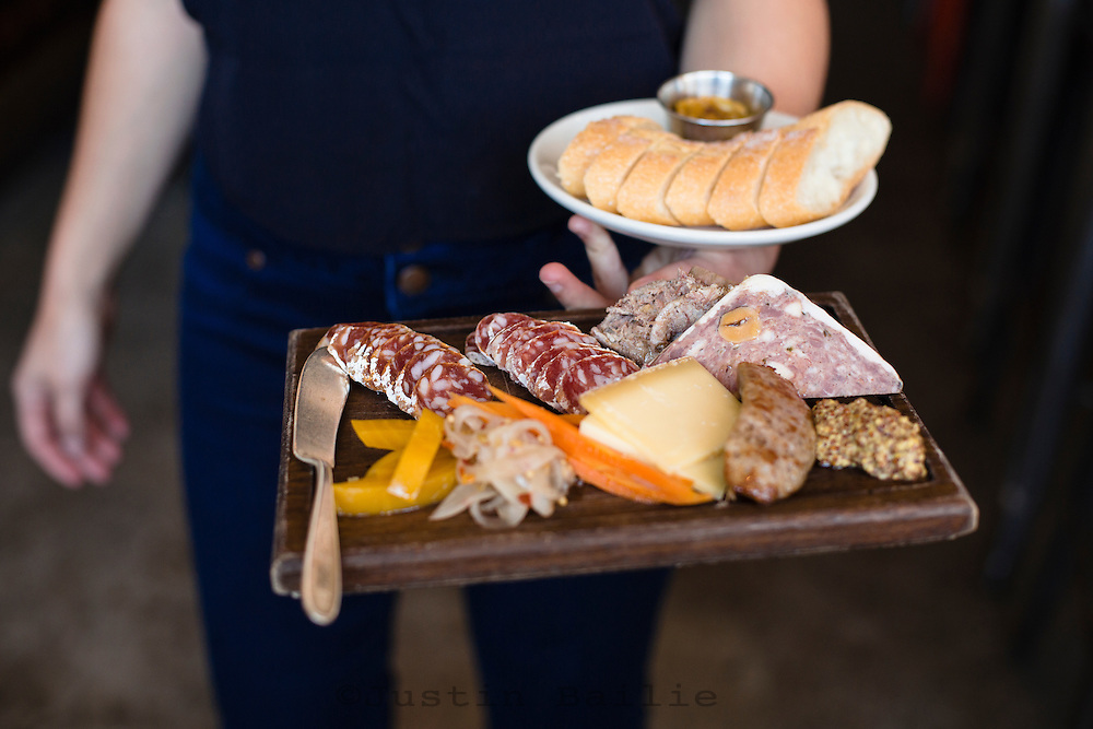 Olympic Provisions is a restaurant and deli in Portland, Oregon and focuses on the art and science behind charcuterie.