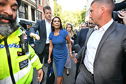 © Licensed to London News Pictures. 17/09/2019. London, UK. GINA MILLER is seen leaving the The Supreme Court in London where an appeal has been made against a judicial review of Boris Johnson's suspension of Parliament. The case has been brought by remain campaigner Gina Miller, with support from former British Prime Minister John Major. Photo credit: Ben Cawthra/LNP
