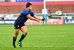 Atsushi Sakate of Japan in action <br /> <br /> Photographer Craig Thomas<br /> <br /> Japan v Russia<br /> <br /> World Copyright ©  2018 Replay images. All rights reserved. 15 Foundry Road, Risca, Newport, NP11 6AL - Tel: +44 (0) 7557115724 - craig@replayimages.co.uk - www.replayimages.co.uk