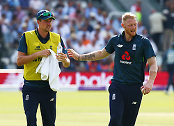 July 14, 2018 - London, Greater London, United Kingdom - England's Ben Stokes .during 2nd Royal London One Day International Series match between England and India at Lords Cricket Ground, London, England on 14 July 2018. (Credit Image: © Action Foto Sport/NurPhoto via ZUMA Press)
