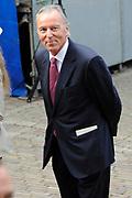 Prinsjesdag 2014 - Aankomst Politici op het Binnenhof.<br /> <br /> Op de foto:  Elco Brinkman