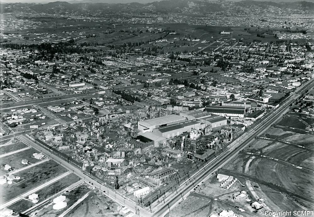 1927 Aerial of MGM Studios