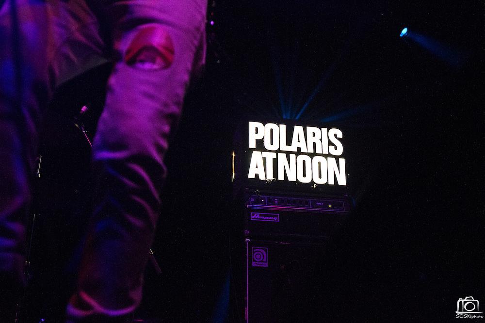 Polaris at Noon performs at the Regency Ballroom in San Francisco, Calif., before headlining act, Ladytron on Sept. 25, 2011.  Photo by Stan Olszewski/SOSKIphoto.
