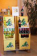 wine shop lizard rock display units chateau de nages rhone france