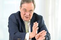 27 NOV 2020, BERLIN/GERMANY:<br /> Armin Laschet, CDU, Ministerpraesident Nordrhein-Westfalen, waehrend einem Interview, Landesvertretung Nordrhein-Westfalen<br /> IMAGE: 20201127-01-003