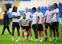 Olympique Lyonnais' Claire Lavogez<br /> <br /> Photographer Kevin Barnes/CameraSport<br /> <br /> UEFA Women's Champions League Final - Pre match training session - Lyon Women v Paris Saint-Germain Women - Wednesday 31st May 2017 - Cardiff City Stadium<br />  <br /> World Copyright © 2017 CameraSport. All rights reserved. 43 Linden Ave. Countesthorpe. Leicester. England. LE8 5PG - Tel: +44 (0) 116 277 4147 - admin@camerasport.com - www.camerasport.com