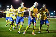 Warrington Town FC v Exeter City 071114