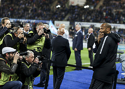 October 20, 2018 - Strasbourg, France - Monaco's French coach Thierry Henry looks on the French L1 football match between Strasbourg (RCSA) and Monaco at the Meinau stadium in Strasbourg, eastern France on October 20, 2018. (Credit Image: © Elyxandro Cegarra/NurPhoto via ZUMA Press)