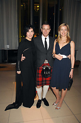 Left to right, SHARLEEN SPITERI, EWAN MCGREGOR and LADY HELEN TAYLOR at 'Not Another Burns Night' in association with CLIC Sargebt and Children's Hospice Association Scotland held at ST.Martins Lane Hotel, London on 3rd March 2008.<br /><br />NON EXCLUSIVE - WORLD RIGHTS