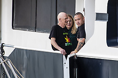 Event on Evanna's boat during the late evening show Gert - Antwerp - 10 June 2018