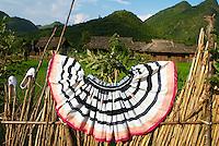 Chine. Province du Guizhou. Village Yao dans les environs de Libo. // China. Guizhou province. Yao village around Libo.