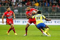Delon Armitage - 29.11.2014 - Clermont Auvergne / Toulon - 12e journee Top 14 -Nice<br />Photo : Sebastien Nogier / Icon Sport