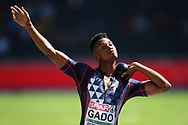 Ruben Gado competes in men decathlon (shot put) during the European Championships 2018, at Olympic Stadium in Berlin, Germany, Day 1, on August 7, 2018 - Photo Philippe Millereau / KMSP / ProSportsImages / DPPI