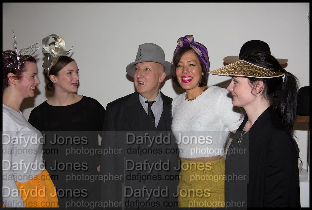 KEELY HUNTER, LIZZIE MCCQUNDE; STEPHEN JONES; AWON GOLDING; EMMA YEO, HEADONISM, SOMERSET HOUSE, LONDON. 20 Feb 2015