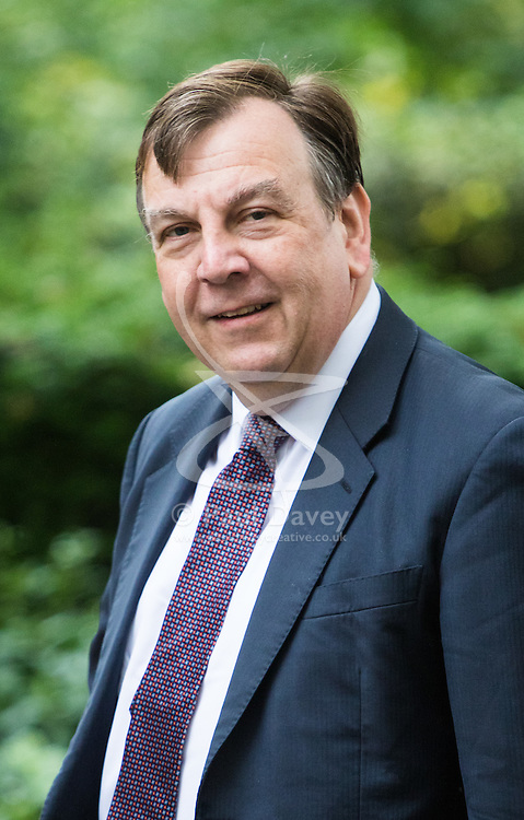 Downing Street,  London, June 27th 2015. Culture, Media and Sport Secretary John Whittingdale arrives for the first post-Brexit cabinet meeting at 10 Downing Street