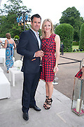 KENNY LOGAN; GABBY LOGAN, Alexandra Shulman, Editor of Vogue & Phil Popham, Managing Director of Land Rover<br /> host the 40th Anniversary of Range Rover. The Orangery at Kensington Palace. London. 1 July 2010. -DO NOT ARCHIVE-© Copyright Photograph by Dafydd Jones. 248 Clapham Rd. London SW9 0PZ. Tel 0207 820 0771. www.dafjones.com.