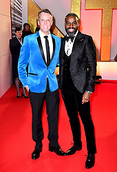 Graeme Swann and Chucky VennGraeme Swann and Chucky Venn attending the National Television Awards 2019 held at the O2 Arena, London. PRESS ASSOCIATION PHOTO. Picture date: Tuesday January 22, 2019. See PA story SHOWBIZ NTAs. Photo credit should read: Ian West/PA Wire