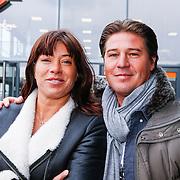ND/Amsterdam/20130322- Onthulling Buddha2Buddha motor, Martijn Krabbe en partner Amanda Beekman