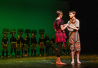 Lion King dress rehearsal for Gilford Middle School.  Karen Bobotas for the Laconia Daily Sun