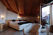 Italy, Madonna di Campilgio, Chalet Hermitage.