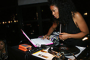 DJ Beverly Bond at The 3rd Annual Black Girls Rock Awards held at the Rose Building at Lincoln Center in New York City on November 2, 2008..BLACK GIRLS ROCK! Inc. is a 501 (c)(3) nonprofit, youth empowerment mentoring organization established for young women of color.  Proceeds from ticket sales will benefit BLACK GIRLS ROCK! Inc.?s mission to empower young women of color via the arts.  All contributions are tax deductible to the extent allowed by