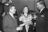 1963 - W.D. & H.O. Wills Reception for Mr John Ware at the Shelbourne Hotel