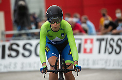 Eugenia Bujak of Slovenia competes during Women Time Trial at UCI Road World Championship 2020, on September 24, 2020 in Imola, Italy. Photo by Vid Ponikvar / Sportida