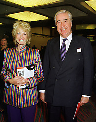 MR & MRS RUPERT HAMBRO members of the banking family, at a reception in London on 2nd June 1998.MIA 5