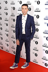 Nick Grimshaw arriving at the BBC Radio 1 Teen Awards, held at the SSE Wembley Arena, London.<br /> <br /> Picture date: Sunday, 23 October, 2016. Photo credit should: Doug PetersEMPICS Entertainment