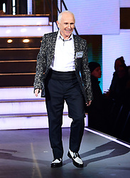Wayne Sleep enters the house during the Celebrity Big Brother Men's Launch held at Elstree Studios in Borehamwood, Hertfordshire.