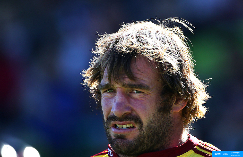 Andrew Hore, Otago, in action during the Otago Highlanders V Waikato Chiefs, pre season Super 15 rugby match at the Queenstown Recreation Ground, Queenstown, Otago, New Zealand. 11th February 2012. Photo Tim Clayton