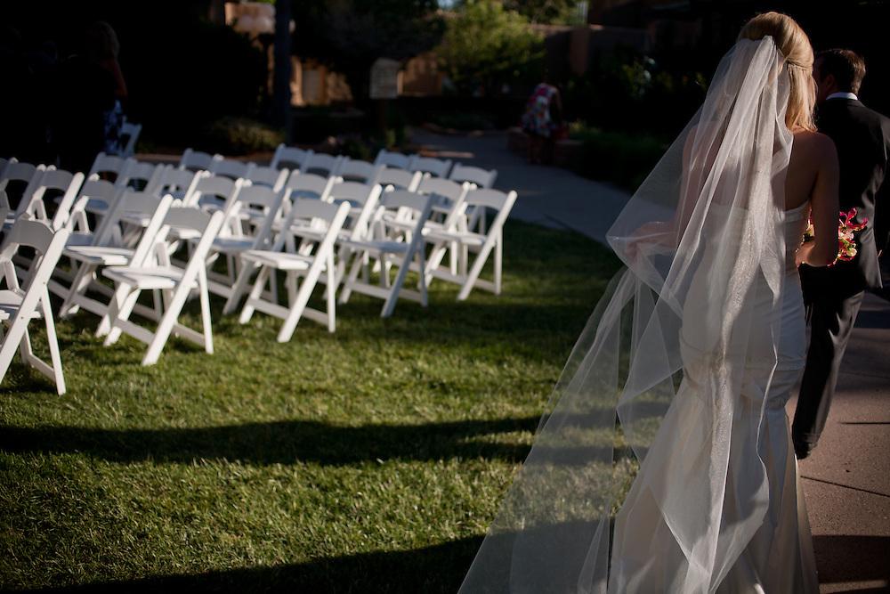 Bill & Emily's wedding at La Posada in Santa Fe New Mexico on May 29th, 2010.