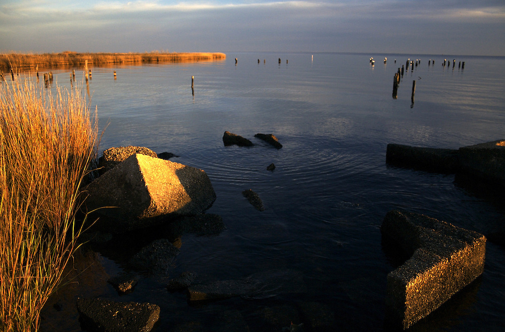 Lake Pontchartrain, Winter, North Shore