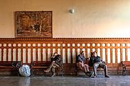 Waiting room at Sirkeci Terminal