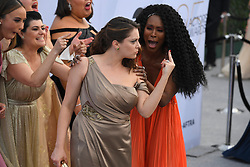 January 27, 2019 - Los Angeles, California, U.S - RACHEL BLOOM, and the cast of Glow during silver carpet arrivals for the 25th Annual Screen Actors Guild Awards, held at The Shrine Expo Hall. (Credit Image: © Kevin Sullivan via ZUMA Wire)
