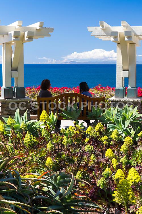 Sitting Area at the Montage Resort in Laguna Beach California