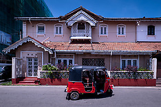 Portuguese Houses, Main Street, Negombo, Sri Lanka.