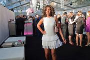 Leona Crichlow, Glamour Women of the Year Awards 2011. Berkeley Sq. London. 9 June 2011.<br /> <br />  , -DO NOT ARCHIVE-© Copyright Photograph by Dafydd Jones. 248 Clapham Rd. London SW9 0PZ. Tel 0207 820 0771. www.dafjones.com.