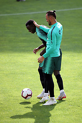 September 6, 2018 - Na - Loulé, 05/09/2018 - National Team AA: Preparation for the League of Nations: Adaptive training for the preparation match with Croatia at the Estádio Algarve. Mist; Beto; (Credit Image: © Atlantico Press via ZUMA Wire)
