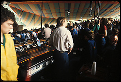 Dan Healy chilling at the Merriweather Post Pavillion 20 June 1983 before the Grateful Dead Concert