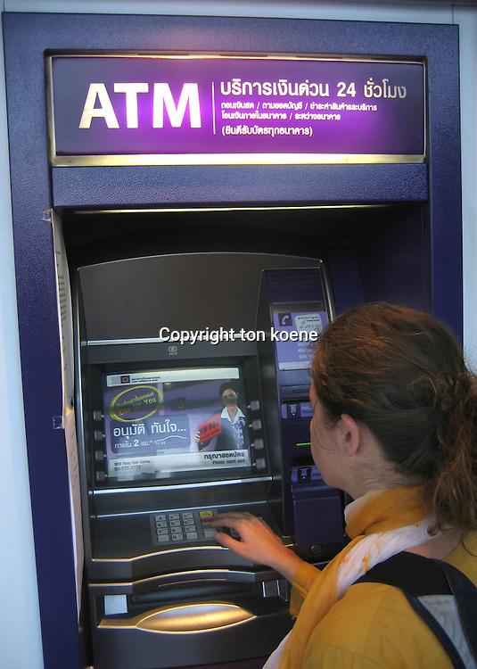 ATM machine in Thailand